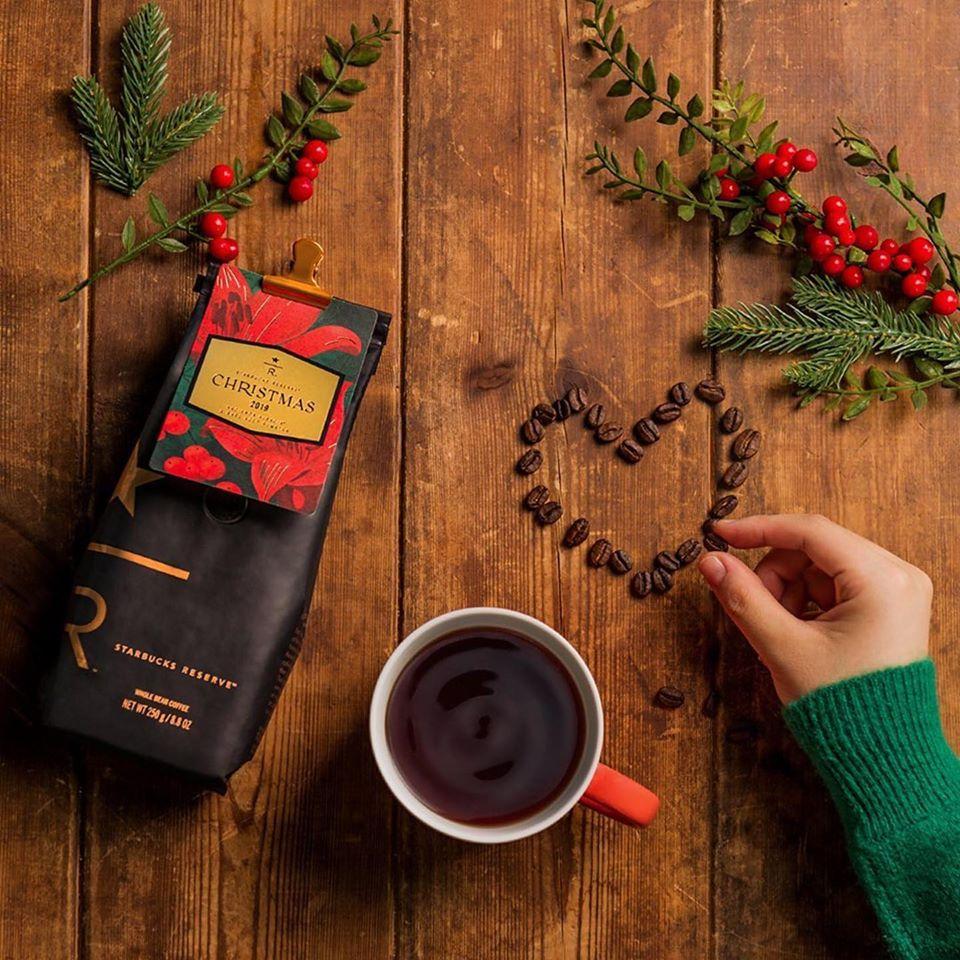 دانه قهوه کریستمس 2019 استارباکس رزرو Starbucks Reserve® Christmas