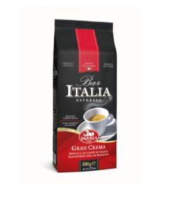دانه قهوه ساکوئلا ایتالیا بارگران کرما اسپرسو SAQUELLA Bar Italia Gran Crema