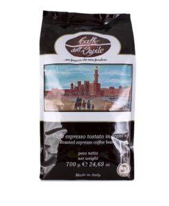 دانه قهوه کافه دل اوسپیته 80% روبوستا لو کافه Lucaffe' Caffe' Dell'Ospite