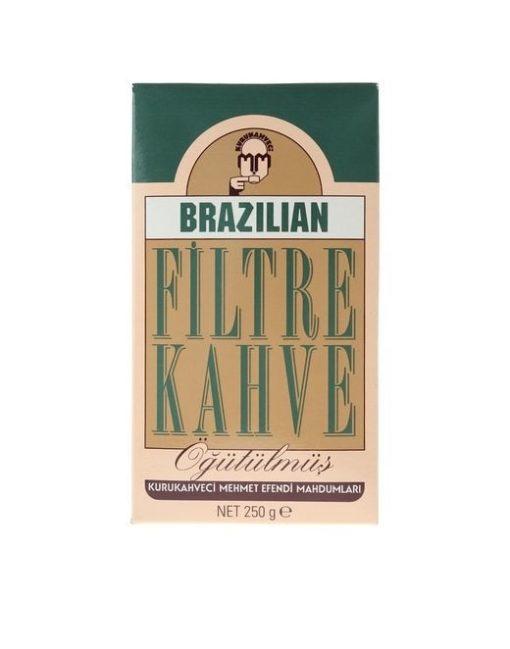پودر قهوه برزیل فیلتر کافی مهمت افندی Mehmet Efendi Brazilian
