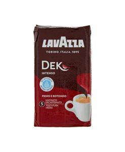 پودر قهوه لاوازا دک اینتنسو بدون کافئین 250 گرمی Lavazza Dek Intenso دیکف