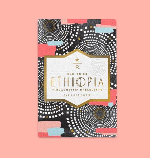 دانه قهوه اتیوپی ییرگاچف استارباکس رزرو Starbucks Reserve™ Ethiopia Yirgacheffe cheleektu