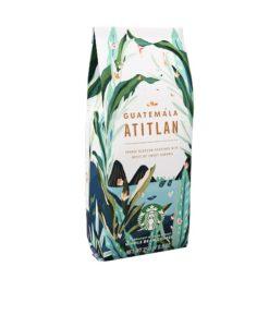 دانه قهوه گواتمالا آتیتلان استارباکس 250 گرمی StarBucks Guatemala Atitlán 100% arabica سینگل ارجین