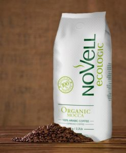 دانه قهوه ارگانیک موکا نوول NoVeLL Coffee Organic Mocca
