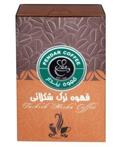 پودر قهوه ترک شکلاتی پندار